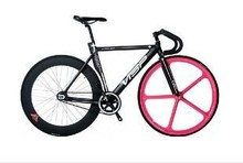 fixie Bicycle FIXED Gear visp BIKE 999 visp bike fixie 700c with 5 spoke wheelset fixie bike(China (Mainland))