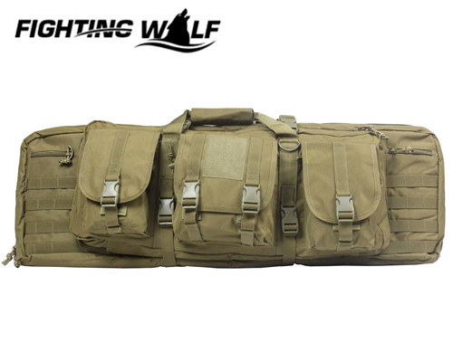 Nylon 1000D 90cm Molle Outdoor Military Heavy Duty Hunting Backpack Tactical Shotgun Rifle Square Carry Bag Gun Protection Case