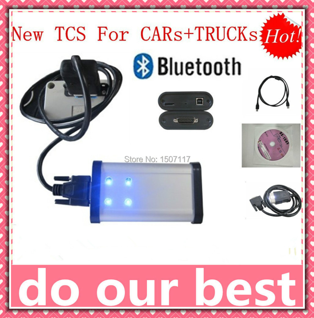 Testing seriously before shipping 2014.2 ds150 with bluetooth cars and trucks tcs cdp pro diagnostic good as DELPHI for cdp(China (Mainland))