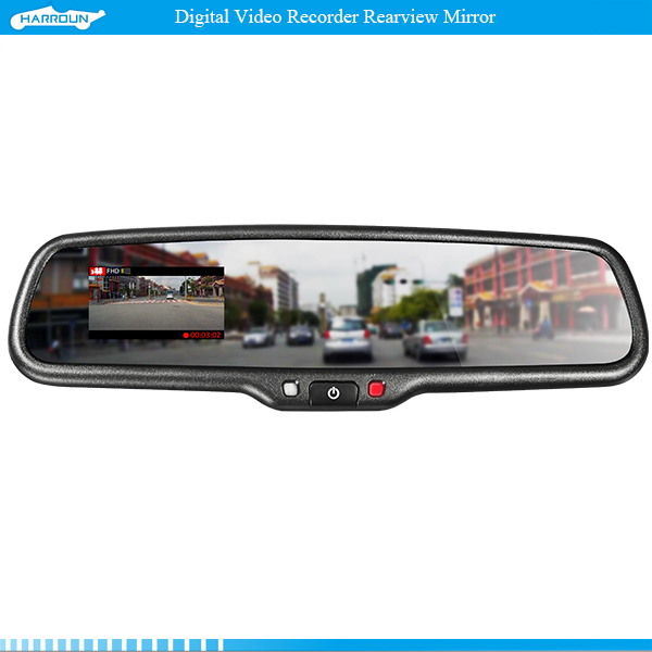 Harroun HA27 2.7 Inch LCD Screen Car DVR Rear View Mirror Recorder for Toyota and Most Cars<br><br>Aliexpress