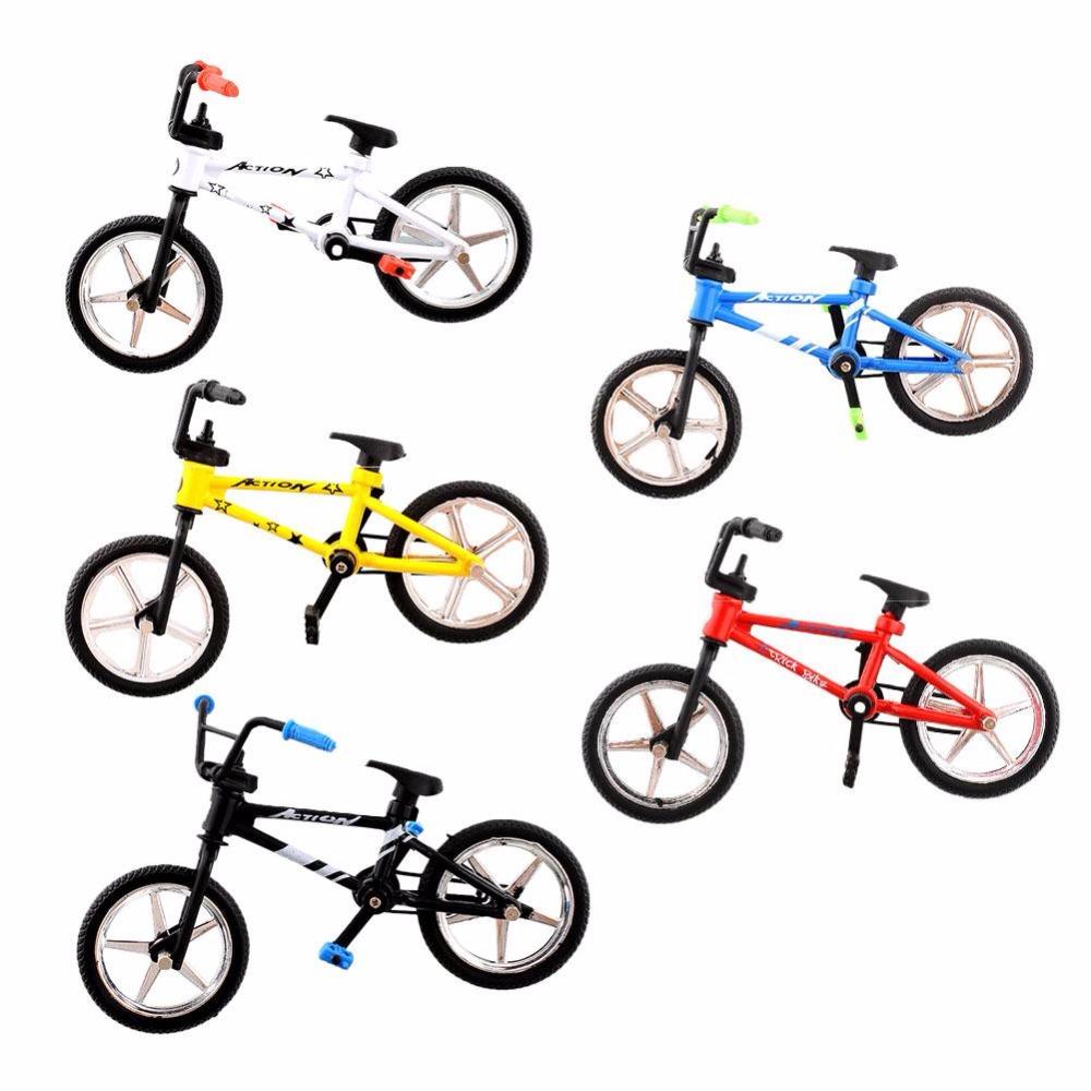 Mini Fuctional Finger Mountain Bike BMX Fixie Bicycle Boy Toy Creative Game Workmanship Toy New Wholesale(China (Mainland))