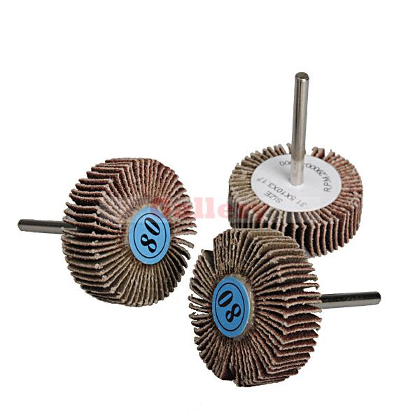 3pcs 31.5mm Sandpaper Grinding Wheel Dremel Accessories Rotary Tools<br><br>Aliexpress