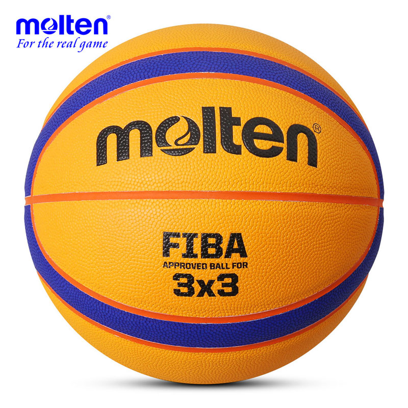 2016 Official Size 7 Molten 3V3 Basketball Ball Indoor Outdoor PU Leather Basket Ball Ray Allen Training Equipment(China (Mainland))