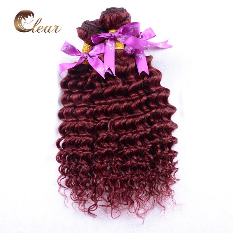 Гаджет  New Arrival! 99J Hair Products Malaysian Virgin Deep Curly Red Hair Weave Extensions 4Bundles Bohemian Tight Curly Virgin Hair None Волосы и аксессуары