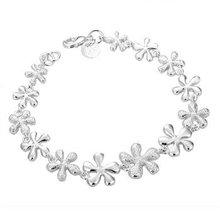 Free shipping,925 silver jewelry Bracelet ,Whole plum bracelet, fashion jewelry Bracelet wholesale price! S183(China (Mainland))