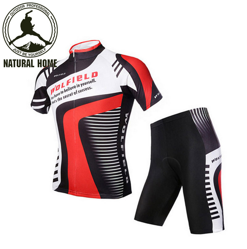 [NaturalHome] Brand Summer Cycling Jersey Bike Bicycle Clothing Quick Dry Cycling Breathable Padded Gel Ciclismo Jerseys(China (Mainland))