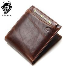 Buy Hot 2016 Vintage Casual Men Wallets Crazy Horse Genuine Leather Cowhide Men Short Bifold Multi-Function Card Holder Wallet Purse for $12.66 in AliExpress store