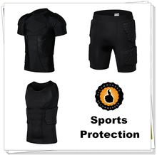 Mens Body Armour Honeycomb Crashproof Basketball Football Shorts Tank Shirt Back Waist Thighs Hips Protector(China (Mainland))