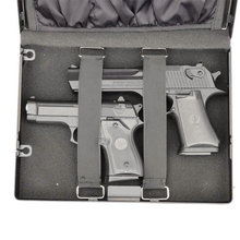 biometric fingerprint portable pistol gun safe(China (Mainland))