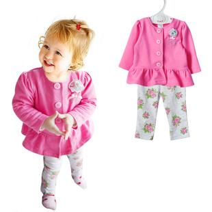 Комплект одежды для девочек Vitamins 2/bebe & roupas bebe infant the vitamins