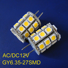 High quality 12VAC/DC 5050 GY6.35 LED light,G6 LED bulb,led gy6 lamp 12v free shipping 10pcs/lot