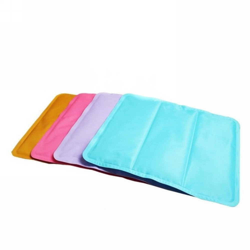4 Colors New Cool DOG Sleeping Pet Bed Cooler Mat Ice Cool ...