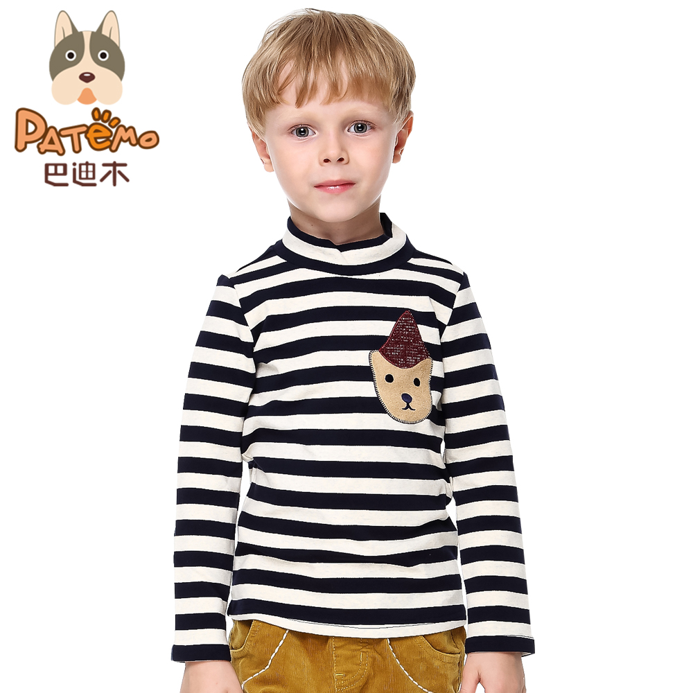Patemo Boys Full Sleeves T Shirts Thick Autumn Winter