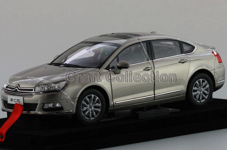 * 2015 Golden Gray1/18 Citroen C5 Sedan Alloy Car New Coming Simulation Model 2 Color Available Diecast Mini Vehicle<br><br>Aliexpress