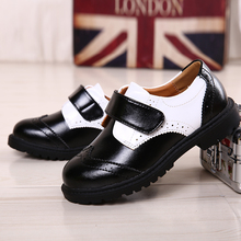 Spring autumn Children Shoes Kids Sneakers Male Child Sport Shoes Boys Casual Shoes Leather Sneakers,2016new small leather shoes(China (Mainland))
