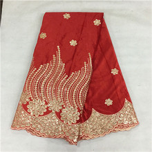 red African velvet lace fabric nice flower,noble Lace wedding xx-16L - Guangzhou tesco lace/shoes/wax shop store