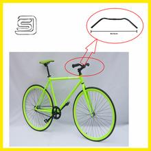 JS-FQ-NR-14 Clamp Diameter 22.2mm Black Road Handlebar /Bent Bar For Electric Pedicab/ Mountain Bike