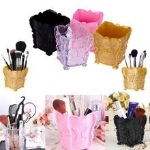 Fashion New Design 1pc 4 colors Acrylic Makeup Cosmetic Storage Box Case Holder Brush Pen Organizer Decorative Free Shipping(China (Mainland))