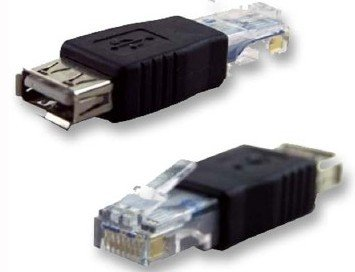 adaptater usb to ethernet rj45 connector more Read