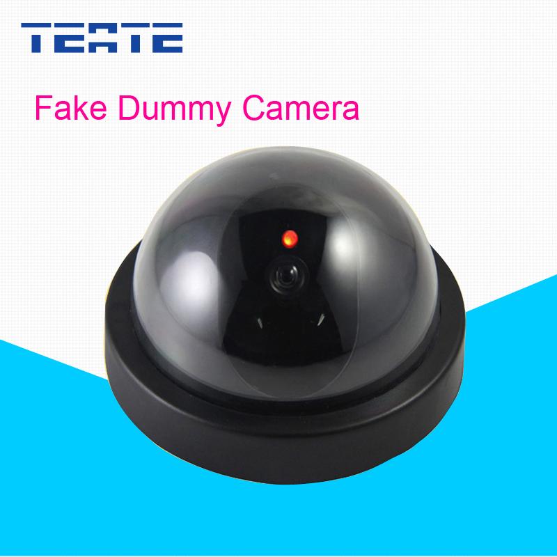 Home CCTV Camera With Flash LED For Dummy Emulational Camera Fake CCTV Camera Dome Indoor Outdoor(China (Mainland))