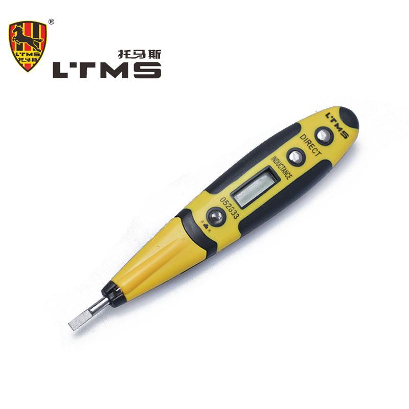 Professional Ac/Dc 12-220V Test Voltmeter 16cm Voltage Detector Tester Digital Electrical Pen With LED Lighting Diagnostic tools(China (Mainland))