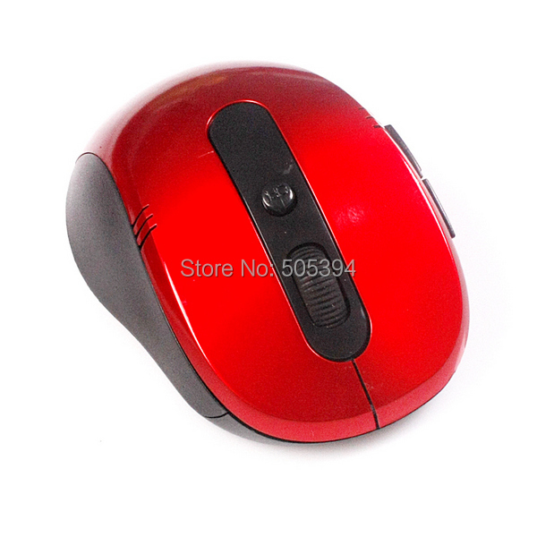 Portable Optical Wireless Mouse 10M Working Distance 2.4G USB Recevier Long Battery Life