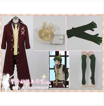 Blue Exorcist / Ao no Exorcist King of Earth Amaimon Cosplay Costume