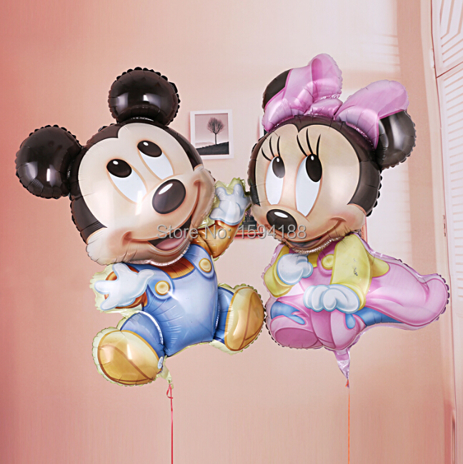 10pcs/lot newest minnie mouse balloon foil mickey mouse ballon for