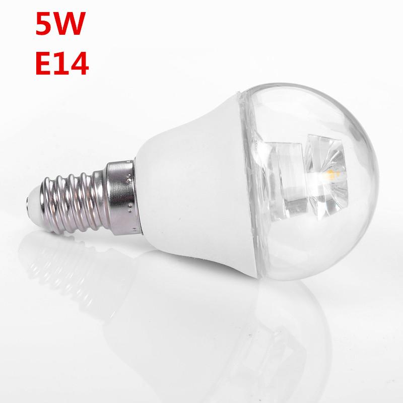 5 Watt 100-240V LED Light Bulb Cool White Warm White LED Bulb E14 High Performance Light Bulb for Indoor Outdoor Night Lighting(China (Mainland))