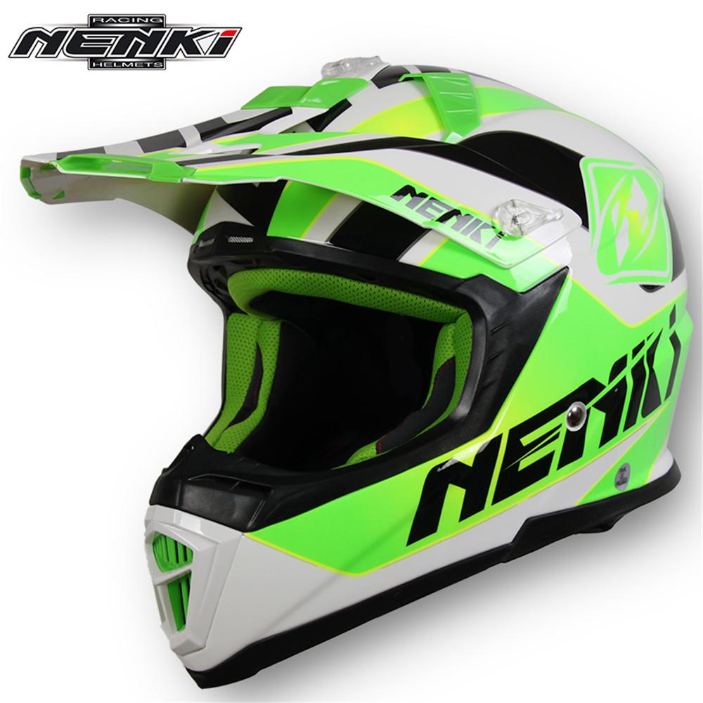 NENKI Off-Road Motorcycle Racing Helmet Fiberglass Men Women Motocross Dirt Bike Helmet Windproof Motorbike Helmet Casque Moto(China (Mainland))