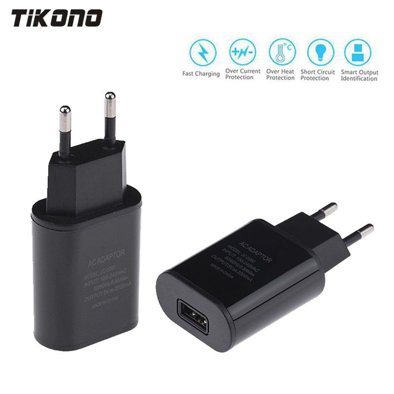 Top Quality 5V 2A EU Plug USB Fast Charger Mobile Phone Wall Travel Power Adapter For iPhone 6 6s 7 Plus Samsung S7edge Xiaomi(China (Mainland))