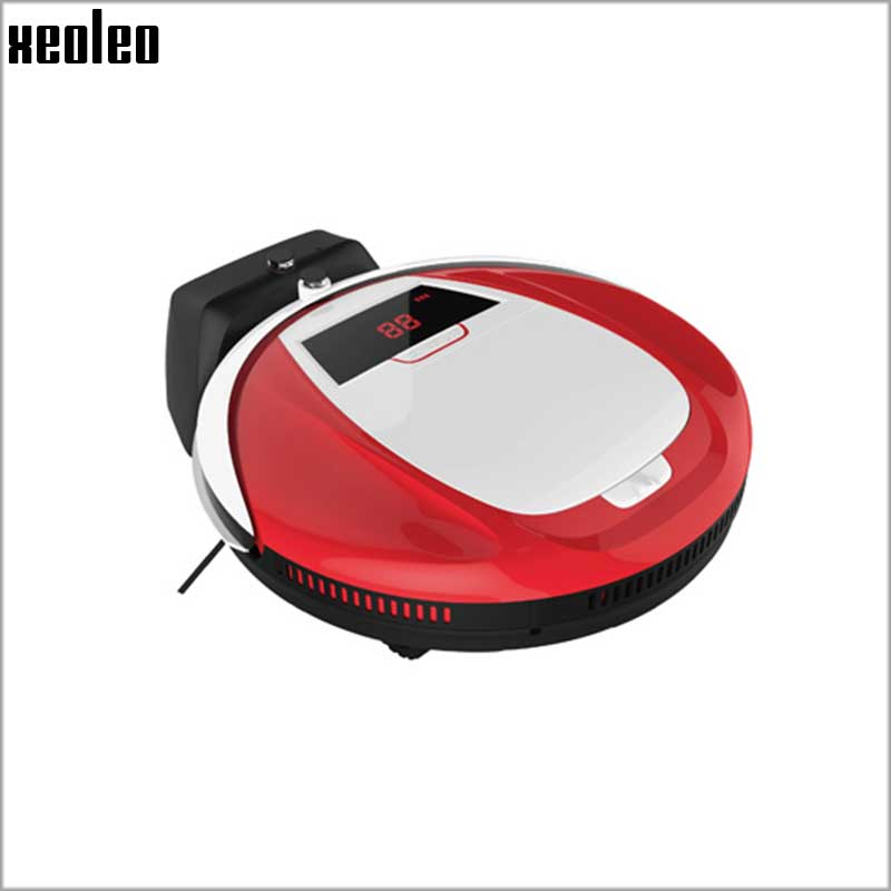 Xeoleo Intelligent Robot Vacuum Cleaner home slim Remote Control&Auto Charging Robot Sweeping Machine HEPA Filters LED Display(China (Mainland))