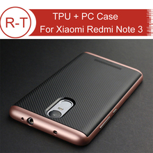 For Xiaomi Redmi Note 3 Case ipaky Brand TPU + PC Protective Case Back Cover With Frame For Hongmi Note3 Prime Smart Phone(China (Mainland))