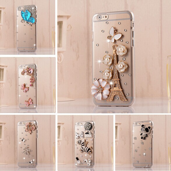 wholesale factory price 2014For ipod touch 5 bling mobile phone case(visit store for iphone all model can be customized)(China (Mainland))