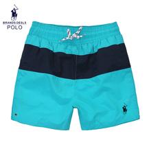2016 Men clothing 100% New POLO HOT brand summer shorts men hot surf beach swimwear beach shorts men board shorts top quality(China (Mainland))