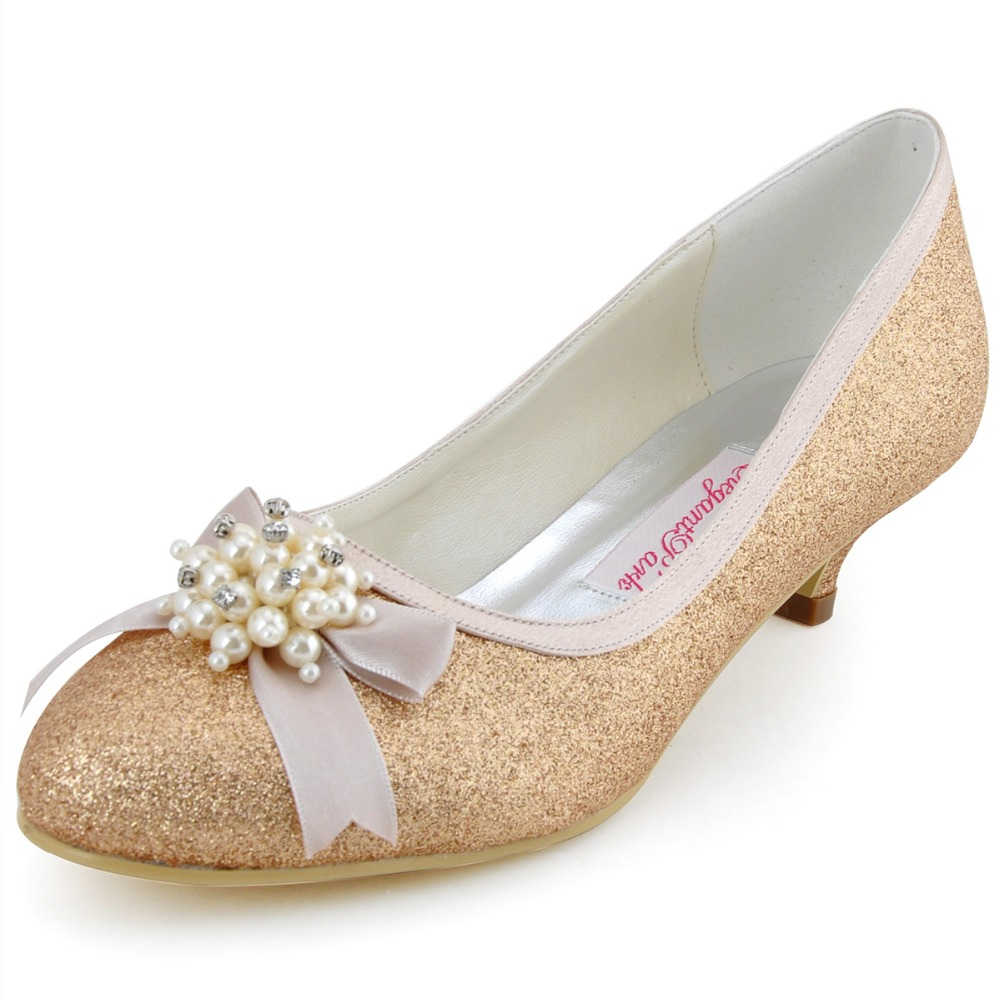 Pale Pink Shoes Low Heel