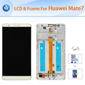 For Huawei Mate 7 LCD repair Original LCD display touch screen digitizer glass frame assembly 6