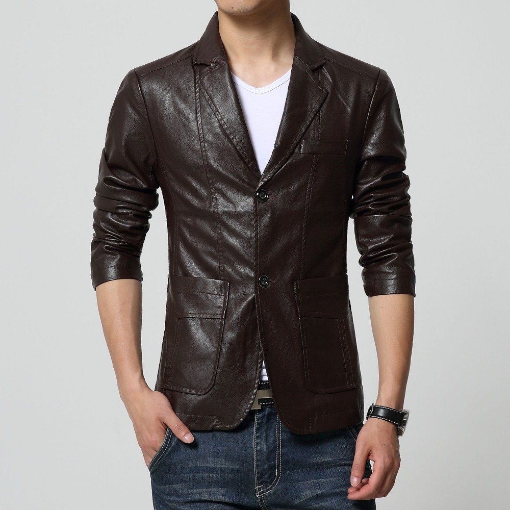Mens Leather Blazers Photo Album - Reikian