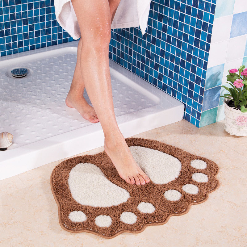 Online buy wholesale bathroom carpet from china bathroom for Big w bathroom mats