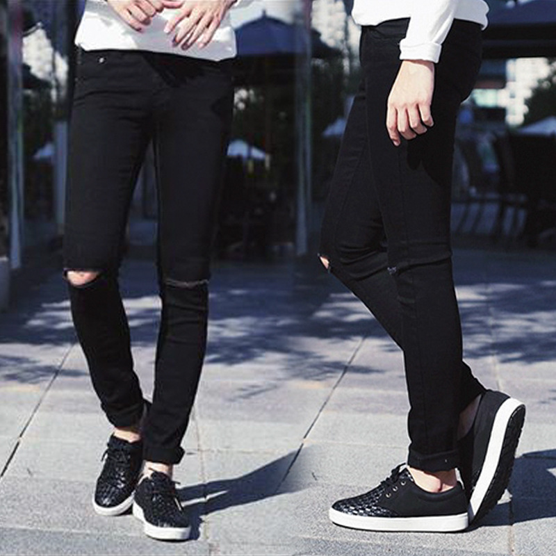 ripped jeans for men destroyed jeans man skinny distressed slim famous. Black Bedroom Furniture Sets. Home Design Ideas