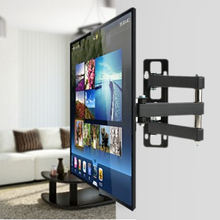"KKmoon TV Monitor Wall Mount Full Motion Arm Swivel Adjustment Universal Television Bracket LED LCD TV Stand Holder 14"" to 37""(China (Mainland))"