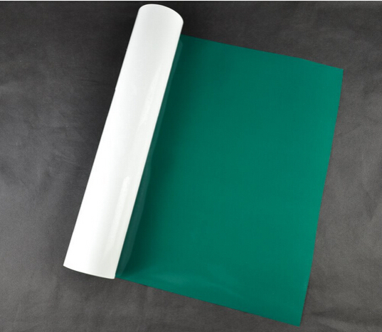 (0.5x5M) Green 2.5 Square Meter of High Quality Heat Transfer Vinyl For Clothing PU Vinyl Film for T shirts Iron on Vinyl GR603(China (Mainland))