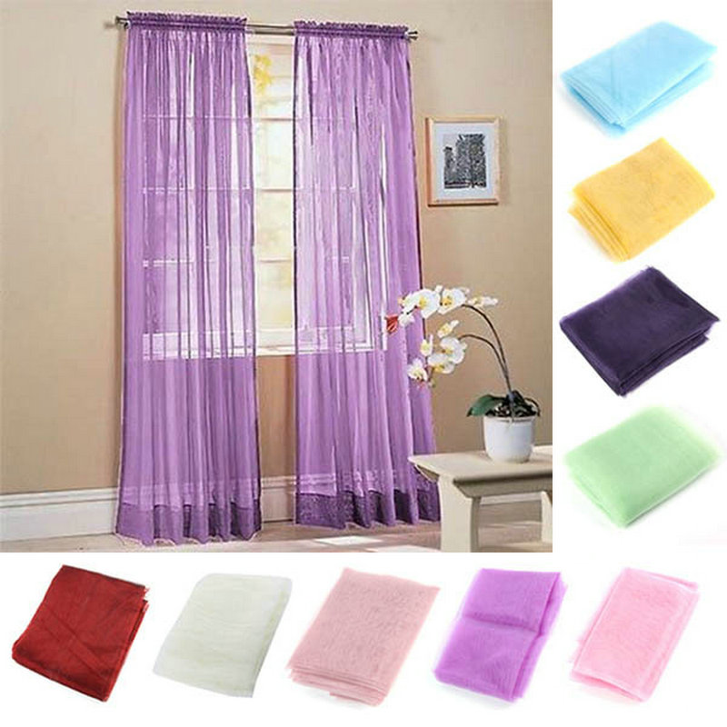 Viole Curtain Drapes Curtain Cheap Window Curtain Solid Curtains For Living R