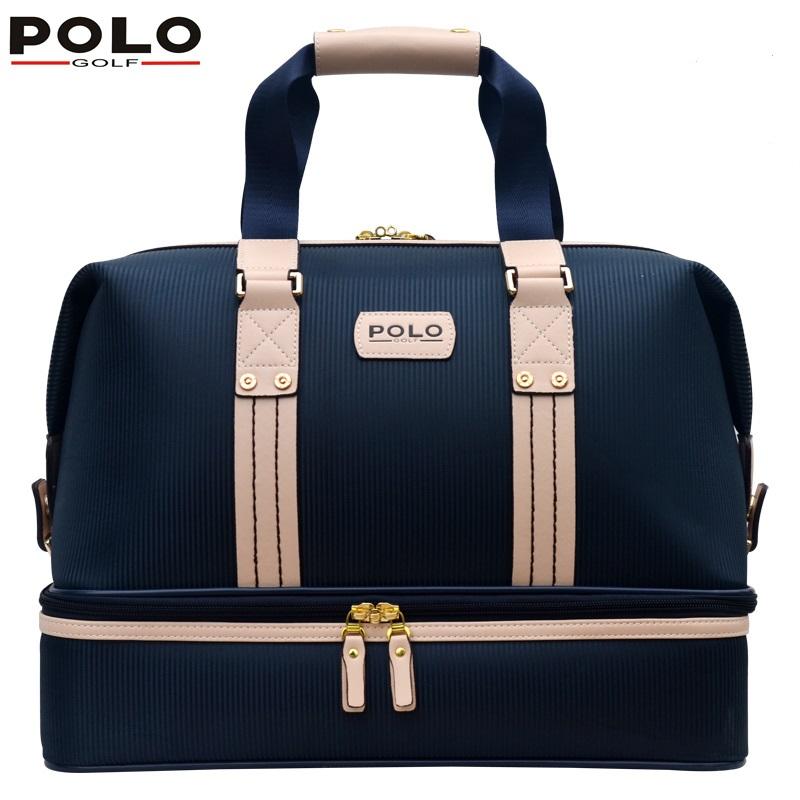 mens golf apparel travel bag bolsas zapatos double garment High-capacity package<br><br>Aliexpress