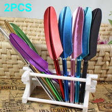 2PCS Novetly Feather Stylus Pens Capacitive Touch Screen Pen For iPhone iPad iPod Touch Samsung HTC Nokia(Hong Kong)