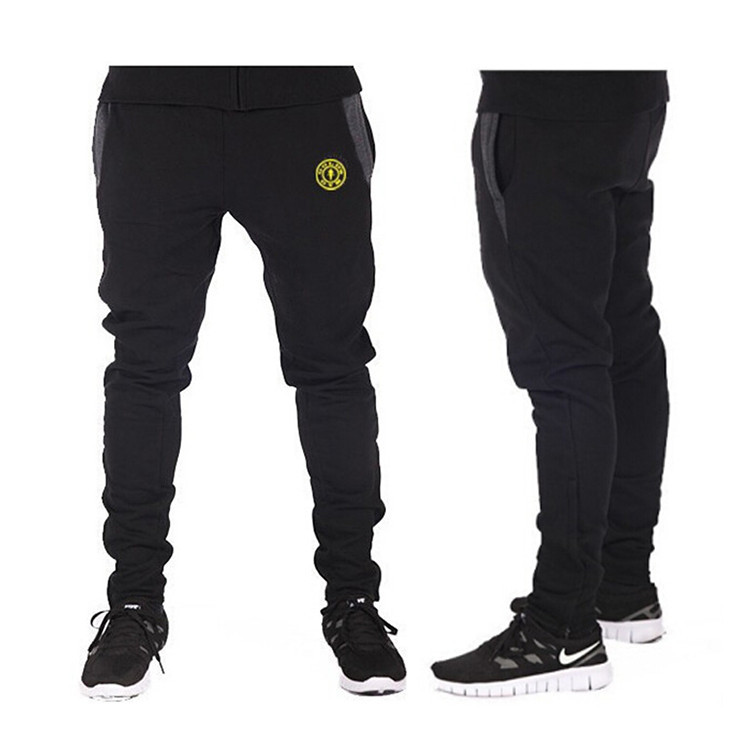 New 2015 Gasp/Golds Gym Fitness Long Pants Men Outdoor Casual Sweatpants Baggy Jogger Trousers Fashion Fitted Bottoms(China (Mainland))