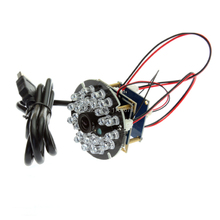 Full Hd 2MP 1920 x 1080 6mm lens 1/2.7 CMOS OV2710 mini IR cut & IR LED board infrared usb camera module