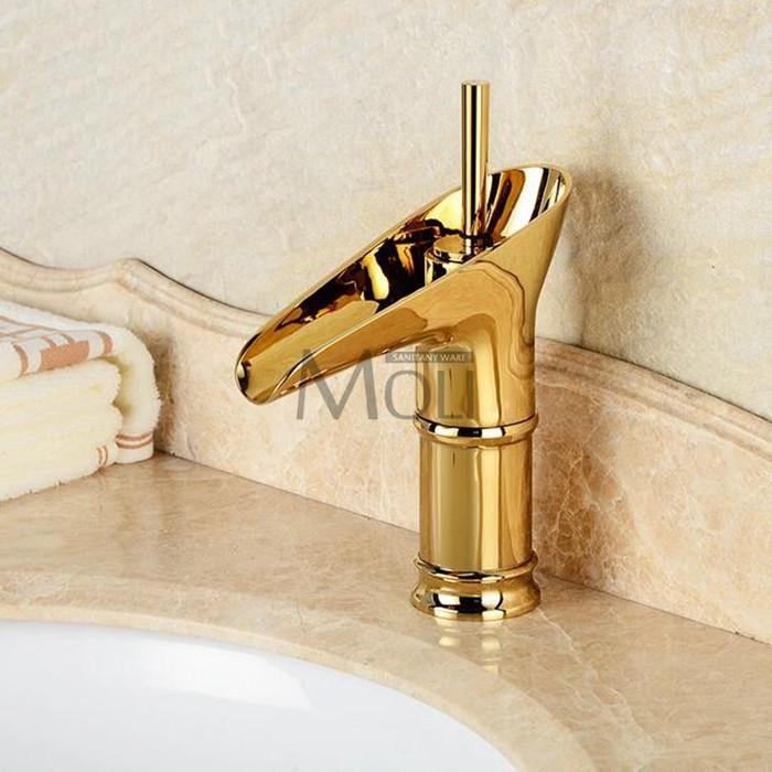 2019 Wholesale Antique Bronze Basin Sink Faucets Modern Open Spout