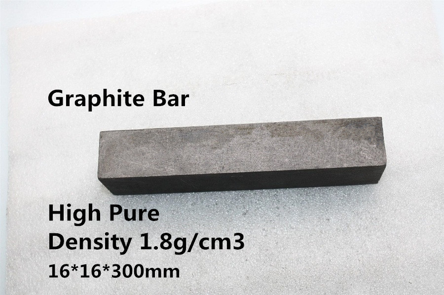 FREE SHIPPING   2Pcs Graphite Electrode Bar Carbon Block HPGEB1616300    for Glass blow mold<br><br>Aliexpress