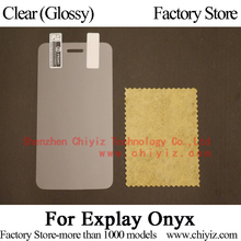 Clear Glossy Screen Protector Guard Cover protective Film For Explay Onyx